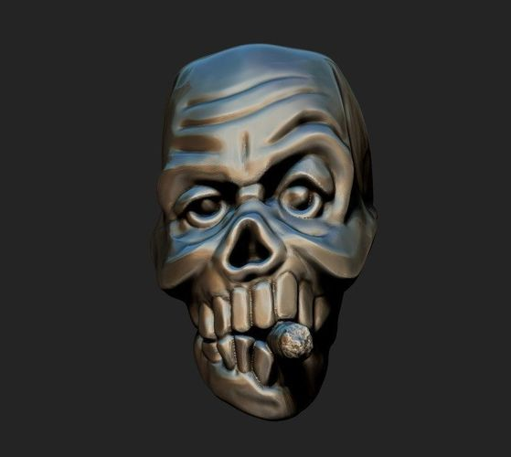 Sell Car For Parts >> The bead of skull 3D print model | CGTrader