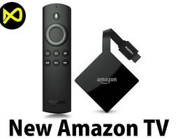 3D New Amazon Fire TV 2017