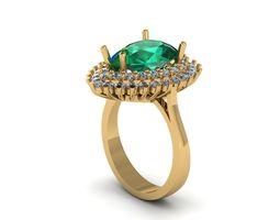 3D print model Pear Ring