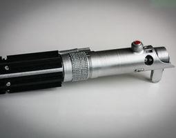 Luke Lightsaber 3D printable model