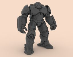 3D printable model robot mod5