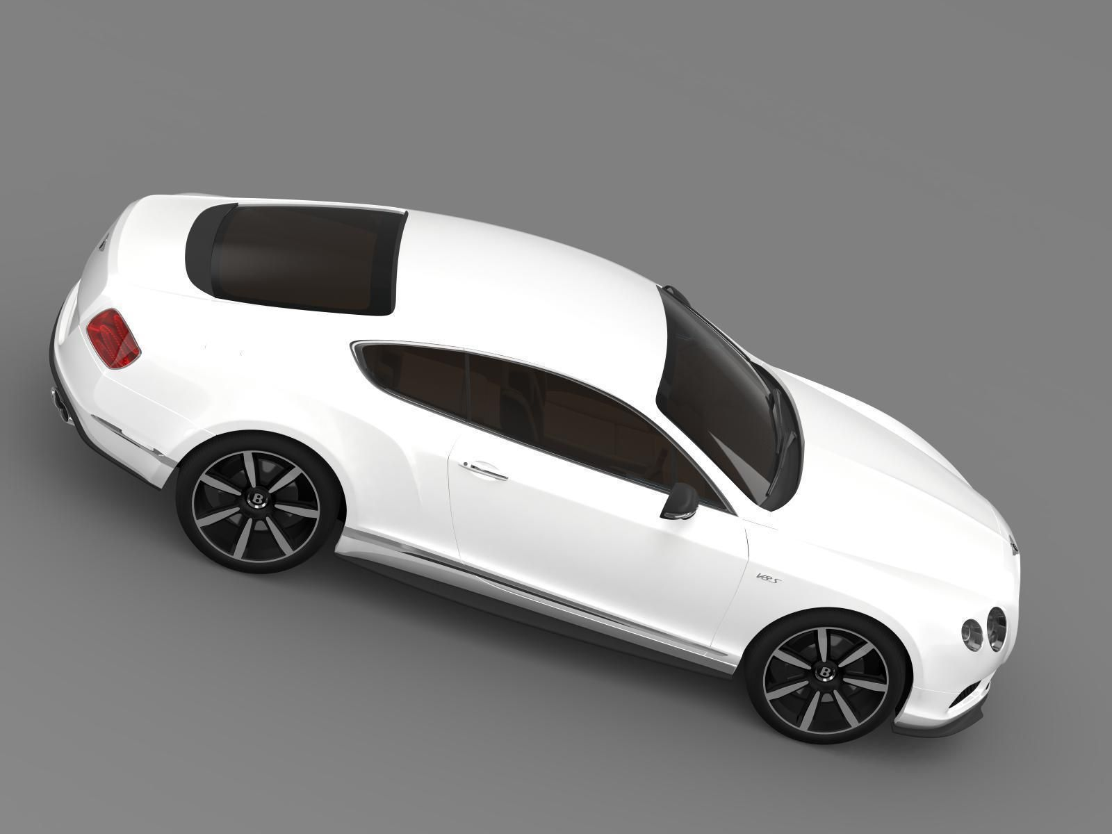 3D model Bentley Continental GT V8 S Coupe 2014 | CGTrader