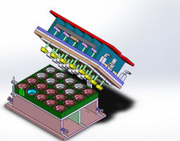 3D model Thermoform Mold - Plate Mold