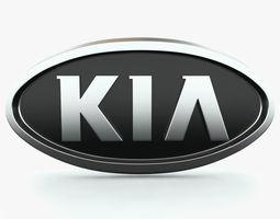 KIA Logo 3D Model