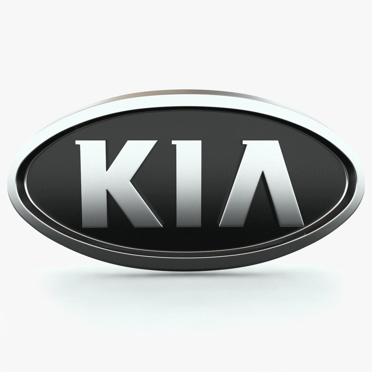 Kia Logo 4 on car kitchen
