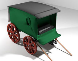 3D model Wagon - Delivery