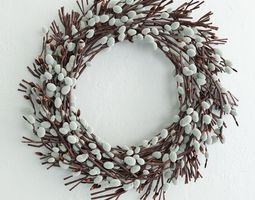 Willow wreath 3D