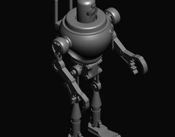 3D model game-ready models Robot