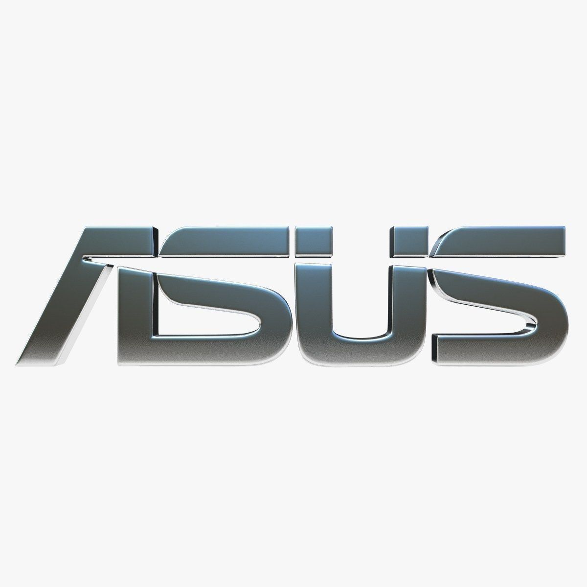 Asus Logo 3d Model Game Ready Max Obj 3ds Fbx