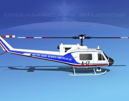 3D Bell 204 Dade County SAR