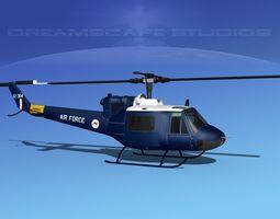 3D model Bell UH-1B Iroquois V16 RAAF