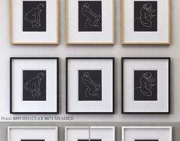 RH FERNANDO REYES COLLECTION 3D model
