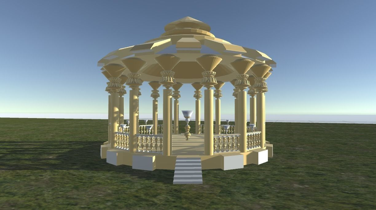 Rotunda in Gold for parks