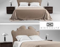 EICHHOLTZ bed BOUDOIR 3D