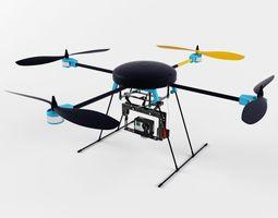 LotusRC T580 quadcopter 3D Model
