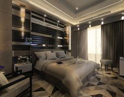 Master Bedroom modern 3D