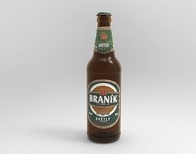 3D Branik Beer Bottle