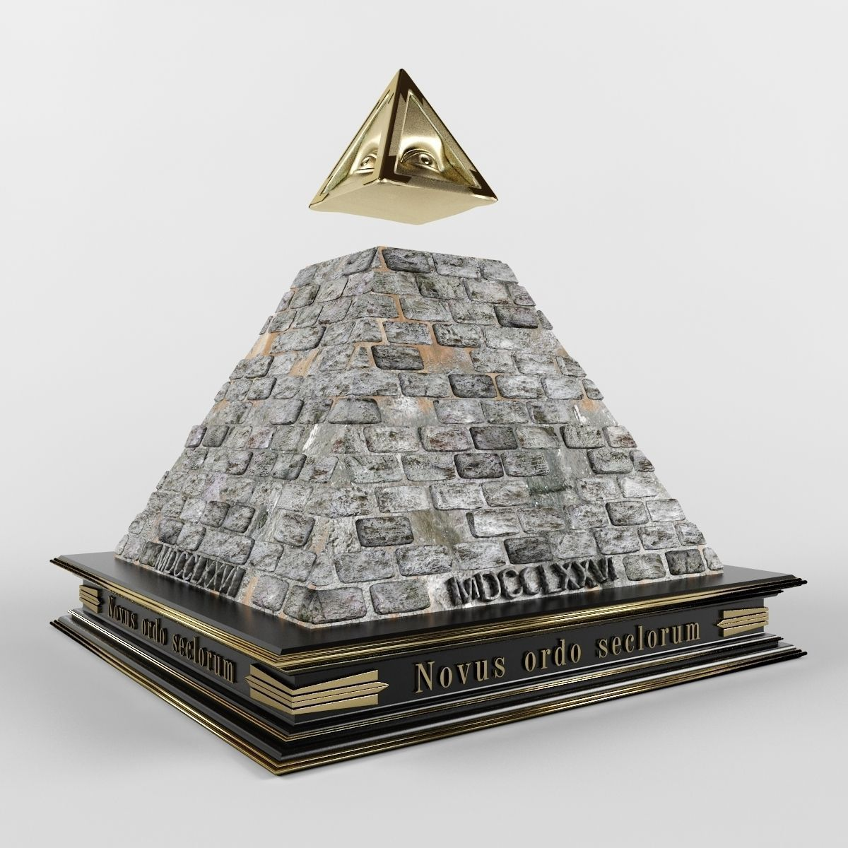 illuminate pyramid