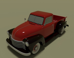 realtime Retro pickup 3d