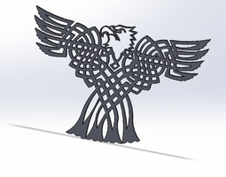 Grid_celtic_bald_eagle_3d_model_stl_7ddd48e8-f55d-4e12-8176-18347dd1f5f2