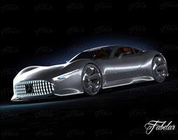 Mercedes Vision GT 3D model