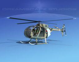 Hughes OH-6 Cayuse V09 3D