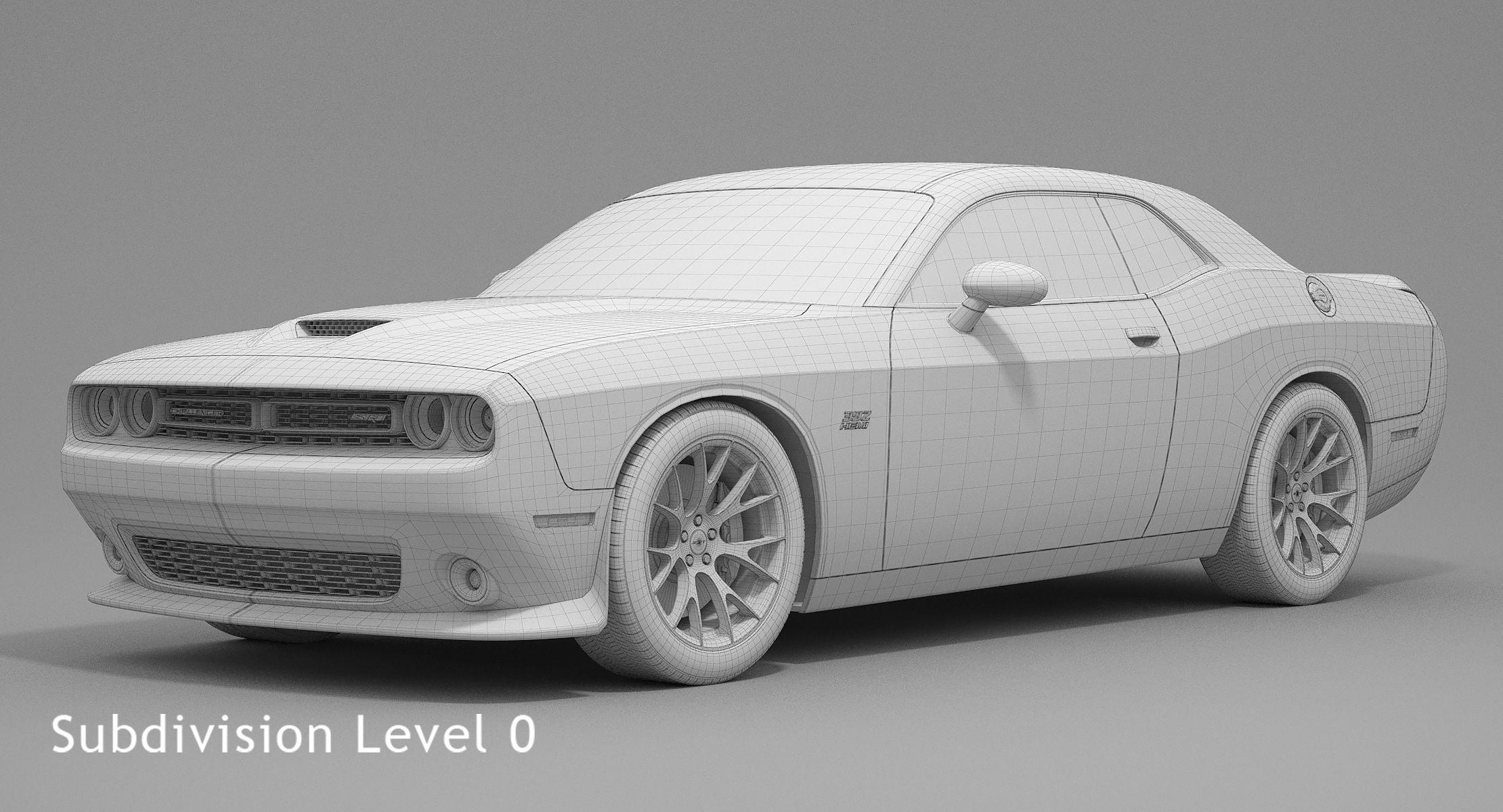 Dodge Challenger SRT 392 2016 3D