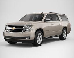 3D Chevrolet Suburban 2016