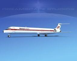 3D McDonnell Douglas MD83 Martinair