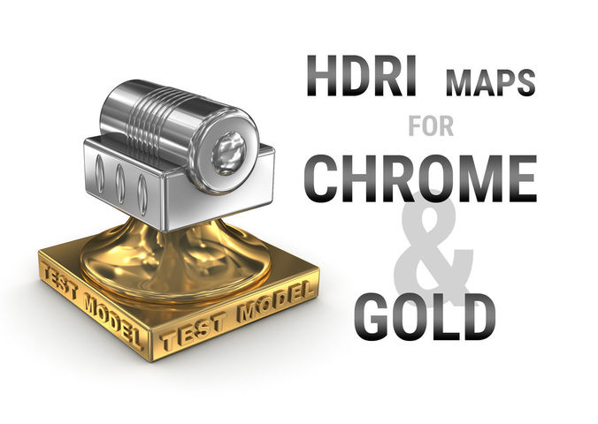 hdri maps for chrome and gold metal surfaces 3d model max obj mtl 1