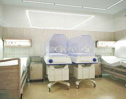 Postpartum ward 3D