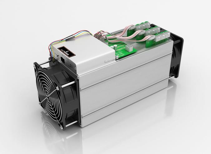 antminer cryptocurrency mining hardware 3d model max obj mtl fbx c4d dwg 1