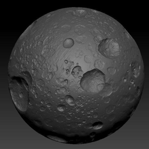 planets moons craters - photo #13