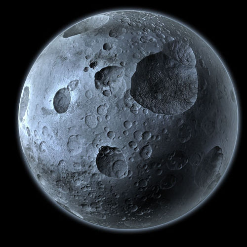 planets moons craters - photo #1