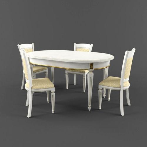 table eternity  3d model max fbx 1