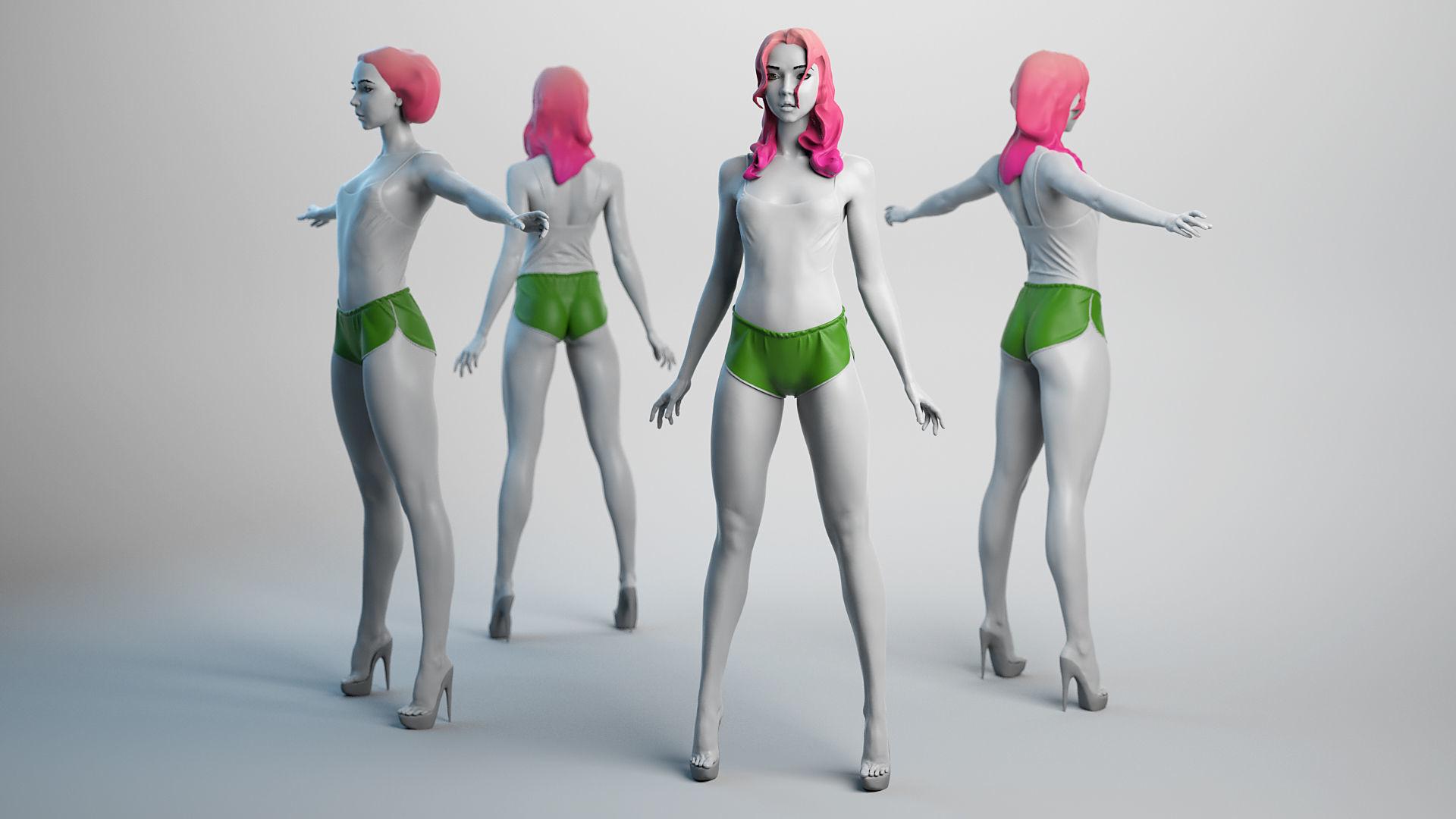 Female Basemesh 06