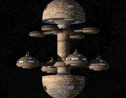 3D STAR-TREK Mars Utopia Planitia Fleet Yards