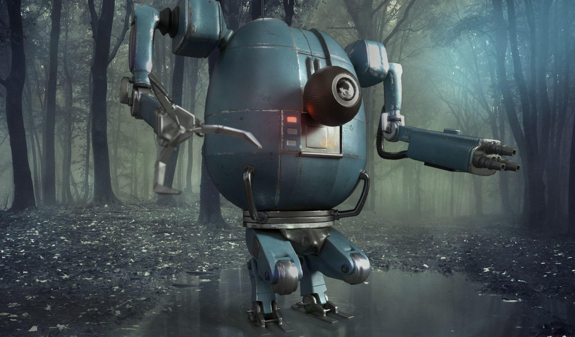 PBR Detailed Robot