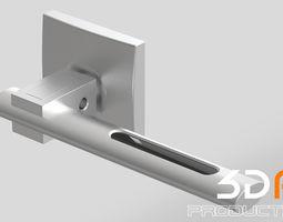 Door handle 3D apartment