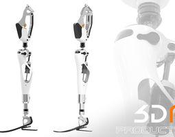 Prosthetic Leg 3D model body