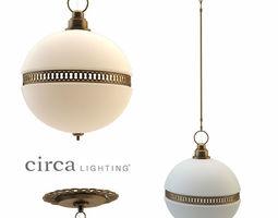 3D asset Hendricks Small Globe Pendant