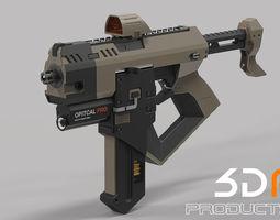 3D Machine Gun assault