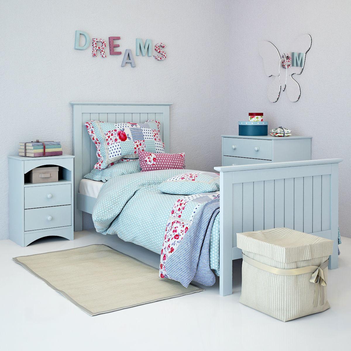 Nursery Furniture Barney 01 | 3D Print Model