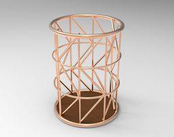 Copper Wire Pencil Pot 3D printable model