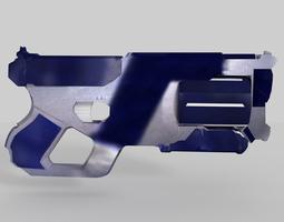 3D asset VR / AR ready Sci-Fi Gun