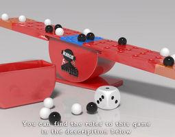 3D print model Balancing Boulders