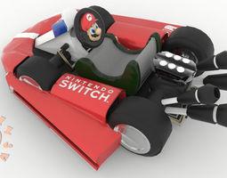 Mario Kart Nintendo Switch Joy Con 3D print model