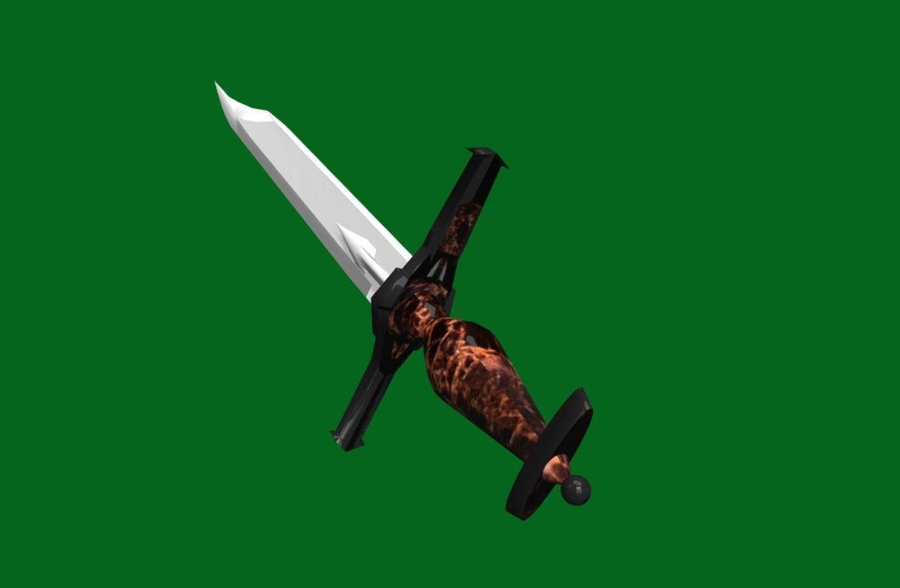 Fantasy Battle Sword - Dirk   for 3d games