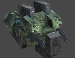 Cosmic dive boat1 3D model