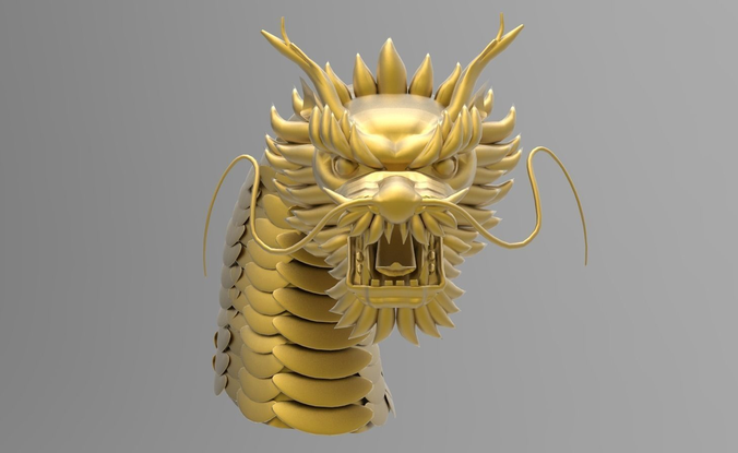 chinese dragon 3d model - photo #40